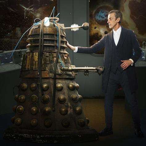Capaldi and Dalek