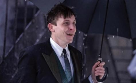 Gotham penguins umbrella