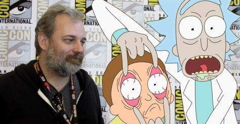 DanHarmon_RickandMorty_SDCC_InterviewGraphic