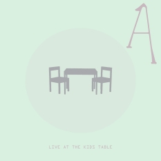 Live at the kids table cover
